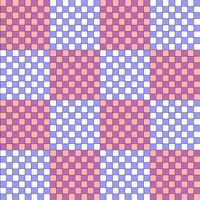 Hierarchical checkerboard decomposition of Ising lattice